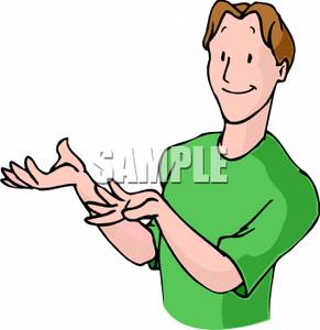 Hand Gestures Clipart.