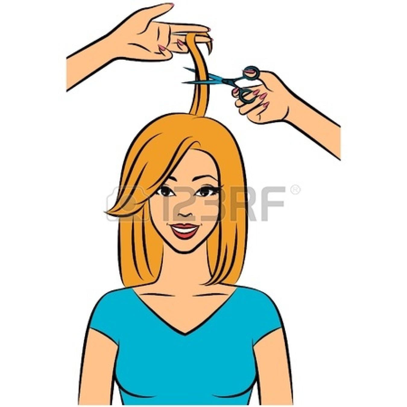 Hair cut clip art.