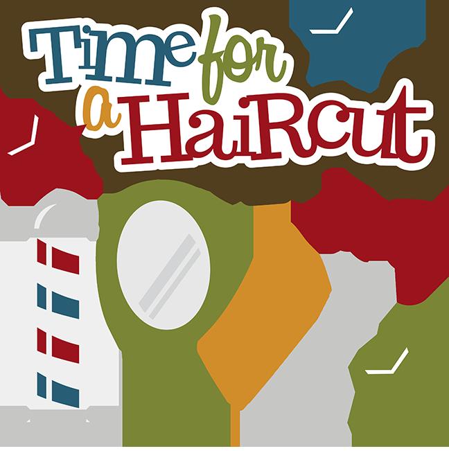 Hair Cut Clipart.