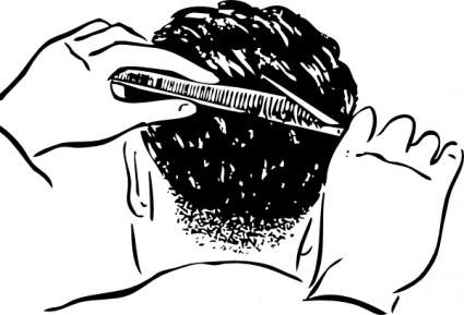 Haircut Clip Art, Vector Haircut.