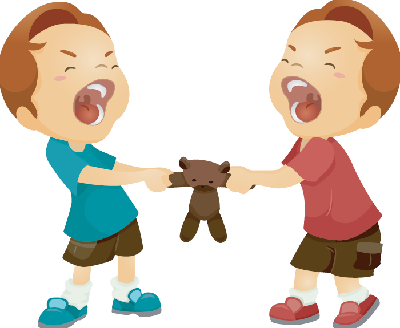 Cant Get Along Clipart.