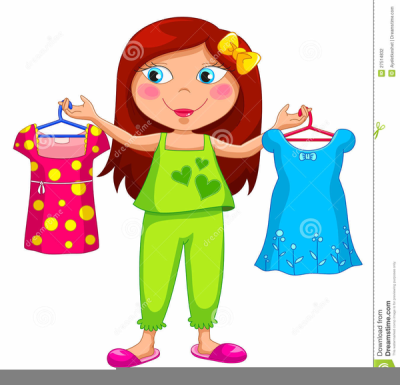 Download Free png Download Free png Girl Getting Dressed.