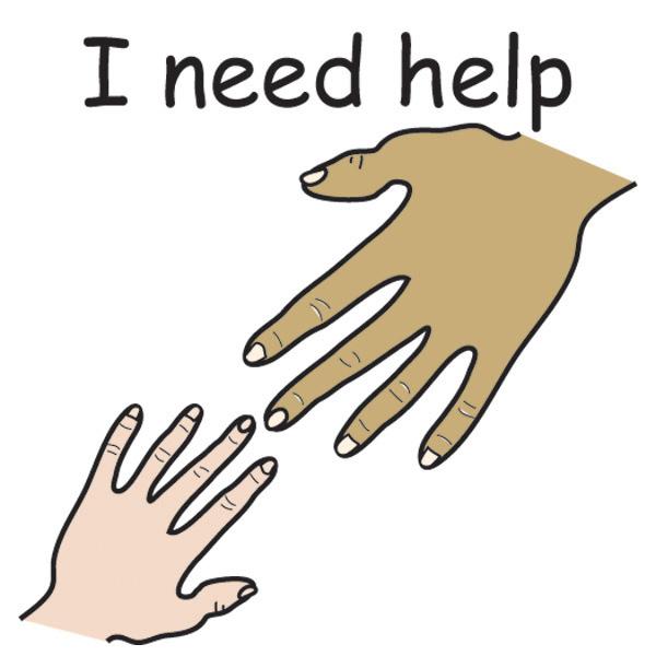 Please Help Clipart.