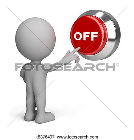 Stock Illustration of Switch off k8046279.