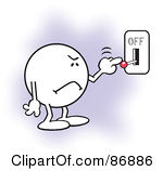 Turn Off Clipart