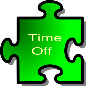 Paid time off clipart.