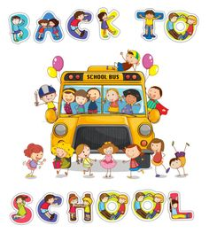 Get Organized For Back To School Clipart.