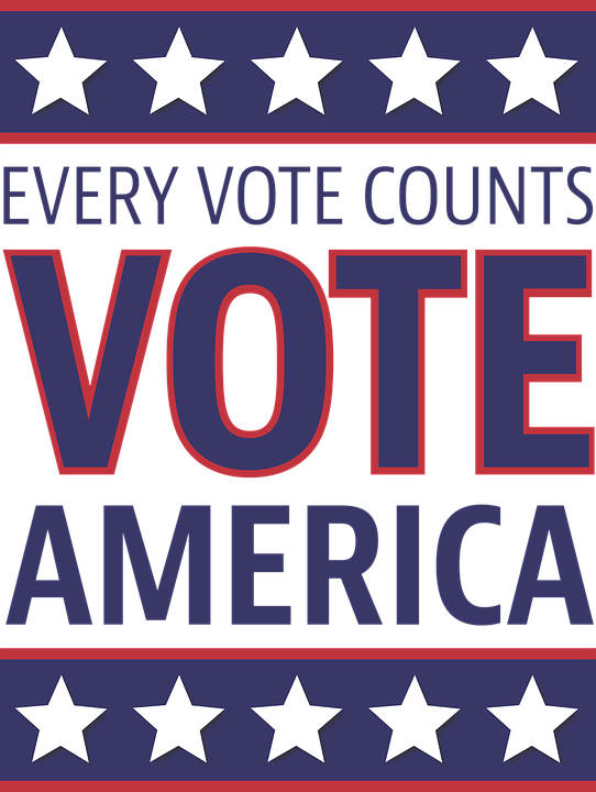 get out the vote clipart United States of America US Presidential.