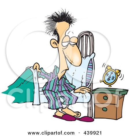 Getting Out Of Bed Clipart Images.