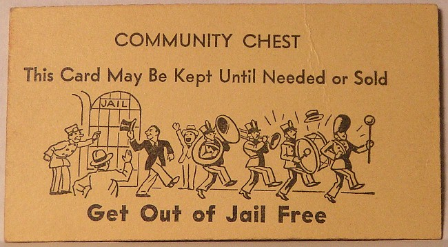 Get Out Of Jail Free Card Clip Art.