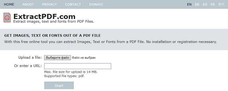 Online Tools for Extracting Images from PDF Files.