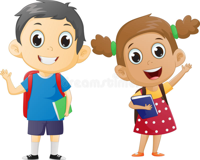 Ready To School Clipart.