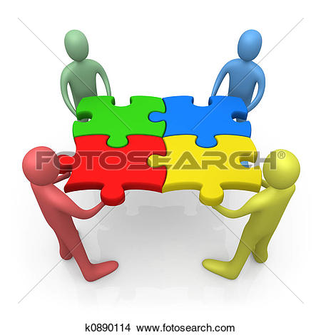 People working together Clipart and Stock Illustrations. 4,420.