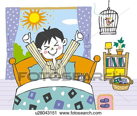 Waking up in the morning clipart 7 » Clipart Station.