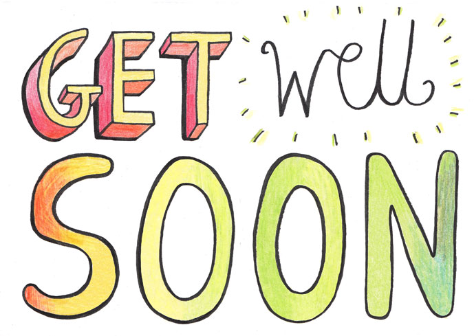 Free clipart images get well soon.