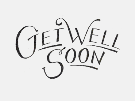 Get Well Soon. The best greeting card for You..