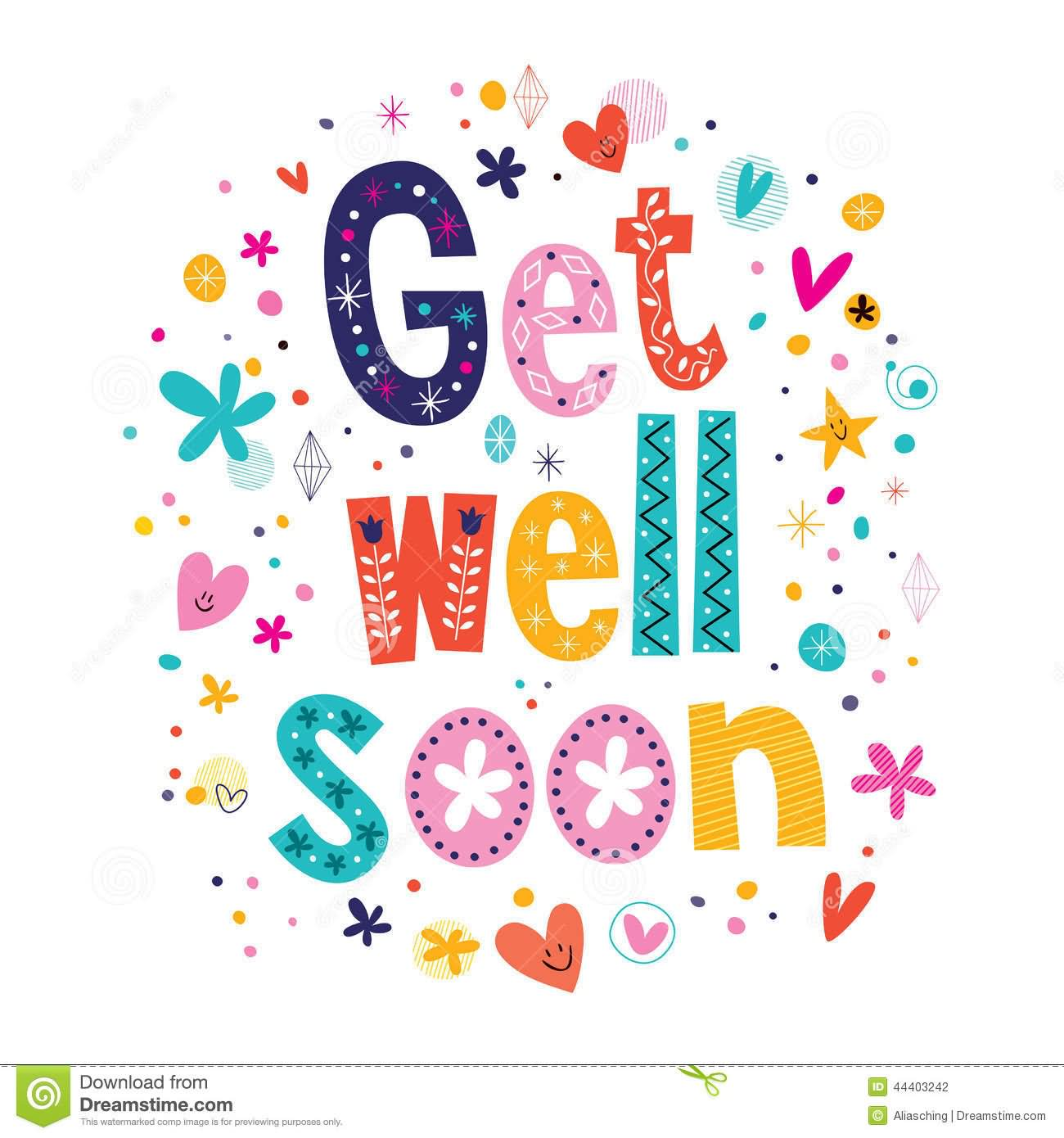 Get Well Soon Clip Art & Get Well Soon Clip Art Clip Art Images.