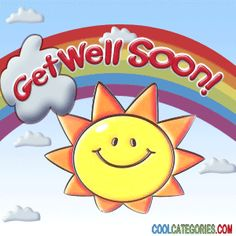 Get well soon clipart animated.
