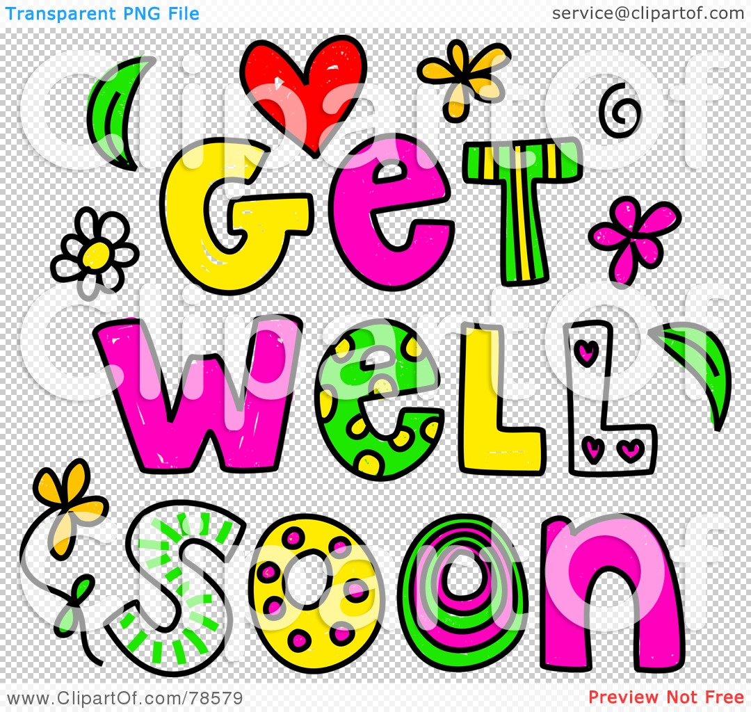 Get Well Soon Clipart.