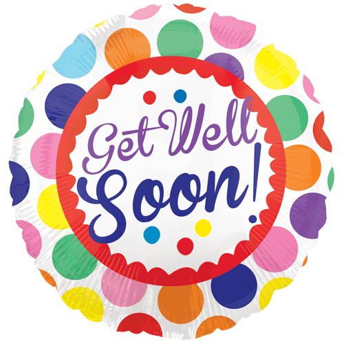Get Well Soon Plate transparent PNG.