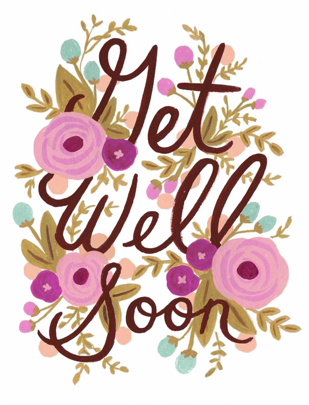 Get Well Soon PNG Image Background.