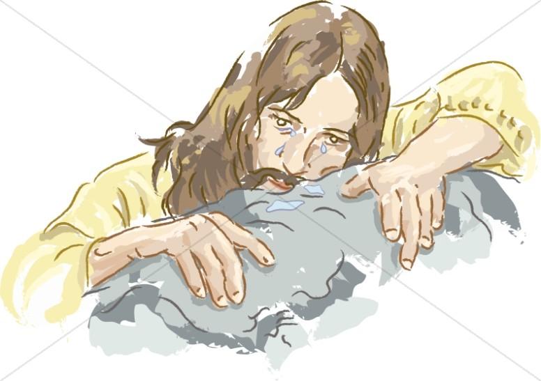 Jesus In Gethsemane Clipart.