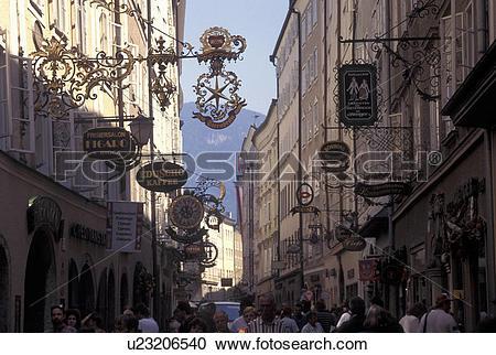 Stock Photography of Salzburg, Austria, Wrought.