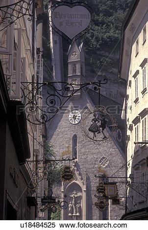 Stock Image of Salzburg, Austria, Wrought.