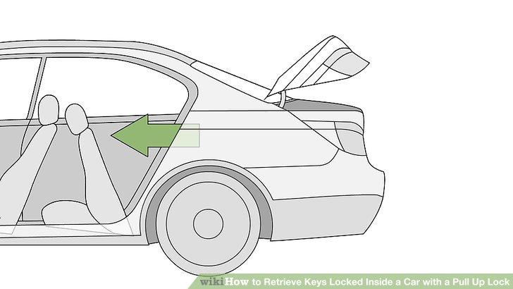 4 Ways to Retrieve Keys Locked Inside a Car with a Pull Up Lock.