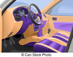 Car interior Stock Illustration Images. 2,403 Car interior.