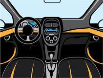 Car Interior Vector Illustration 49276866.