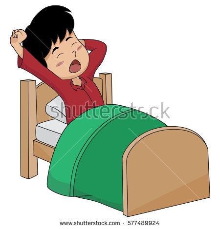 Waking up in the morning clipart 9 » Clipart Station.