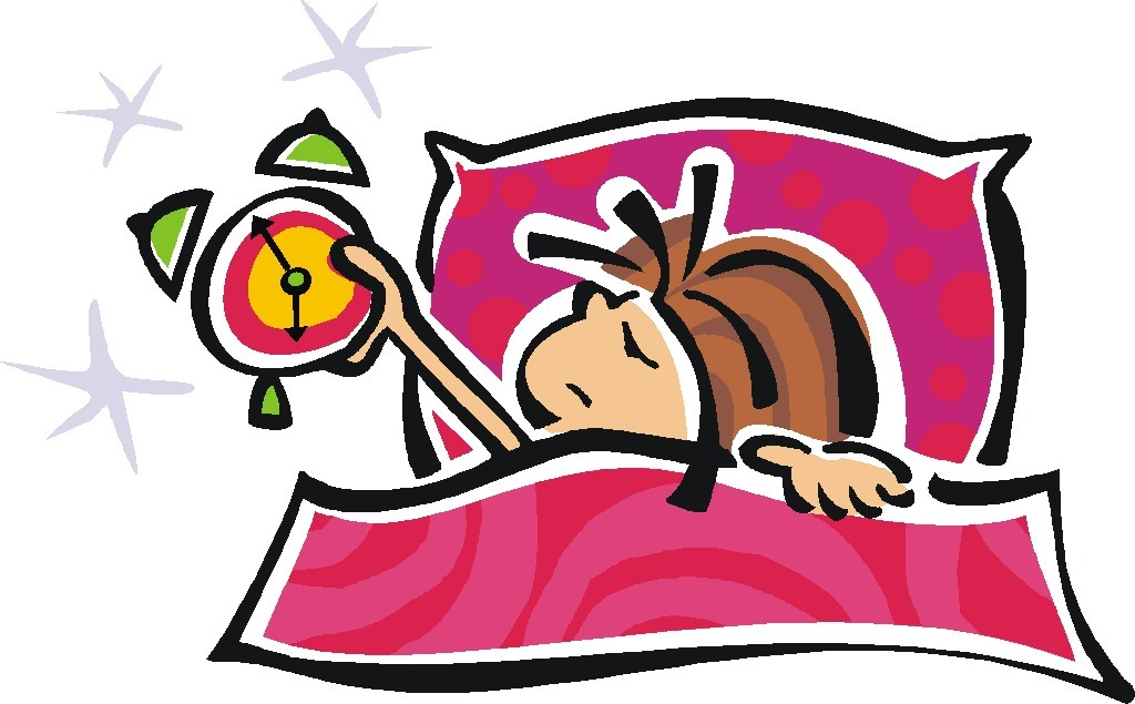 Wake up in the morning clipart 4.