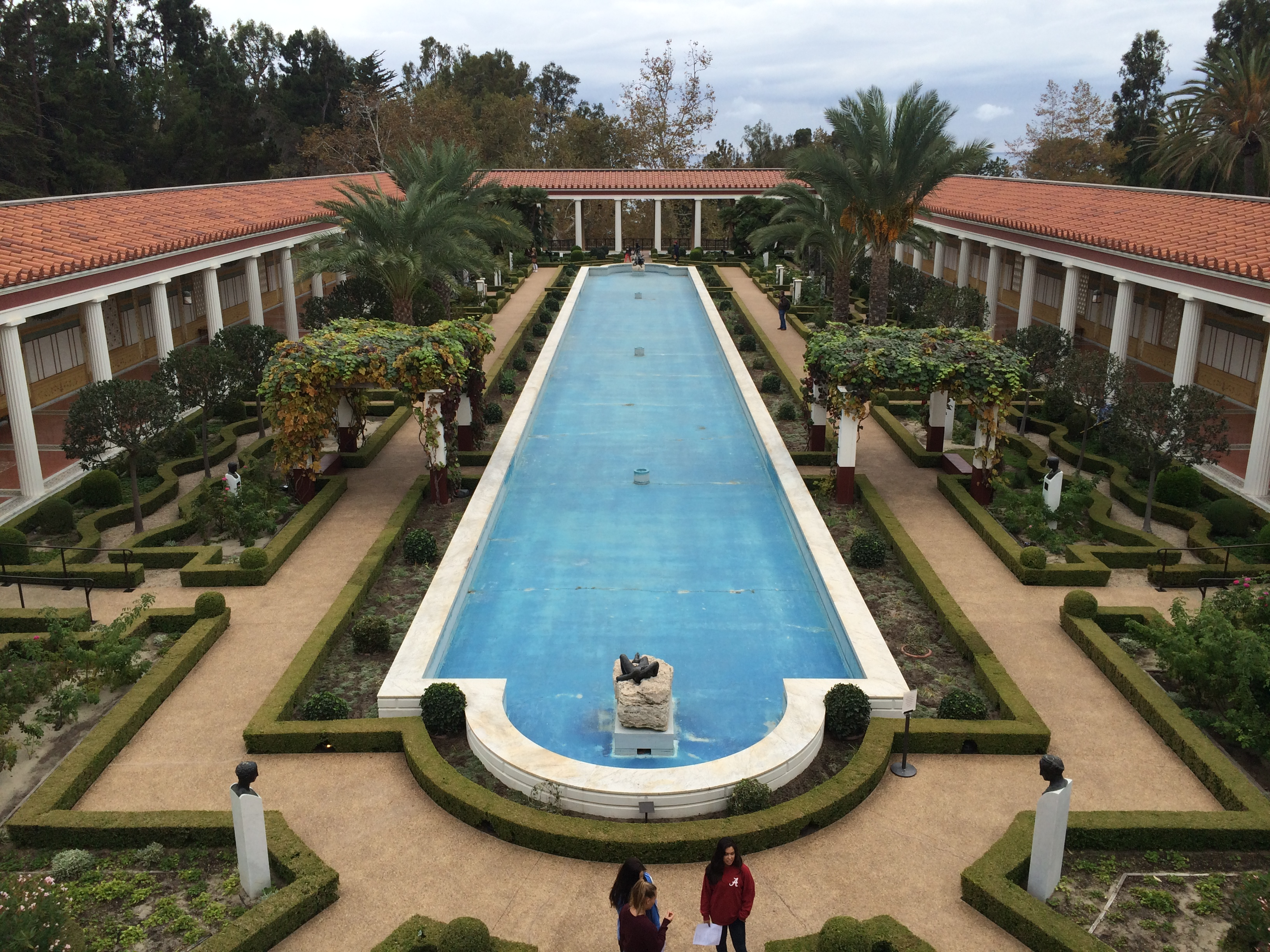 Meeting & tour at the J. Paul Getty Villa Museum. «.