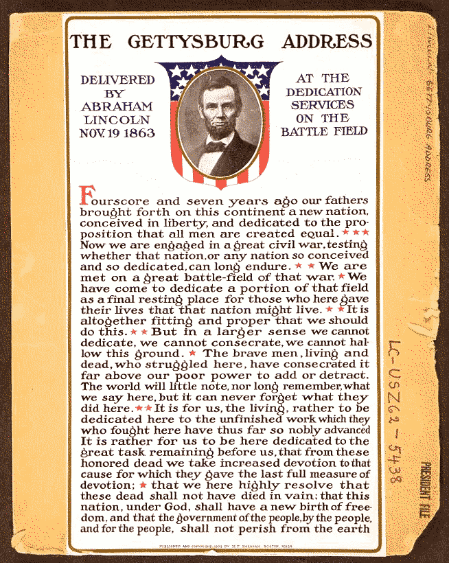Gettysburg Address Clip Art Download.