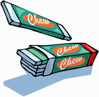 Gum Cartoon Clipart.