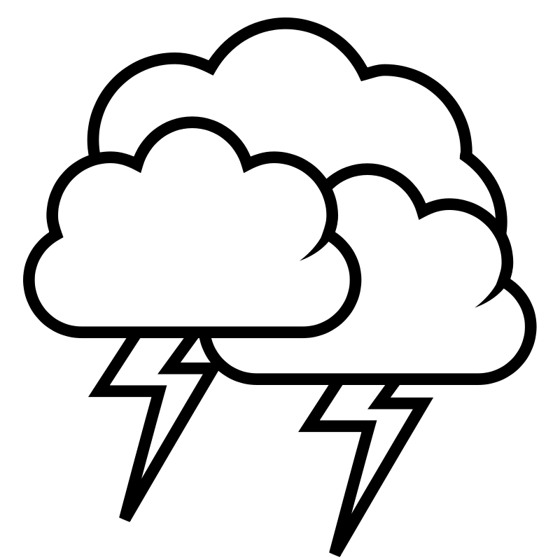 Thunder 20clipart.