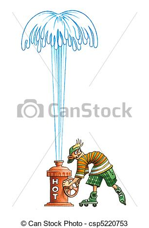 Geyser Clip Art and Stock Illustrations. 294 Geyser EPS.