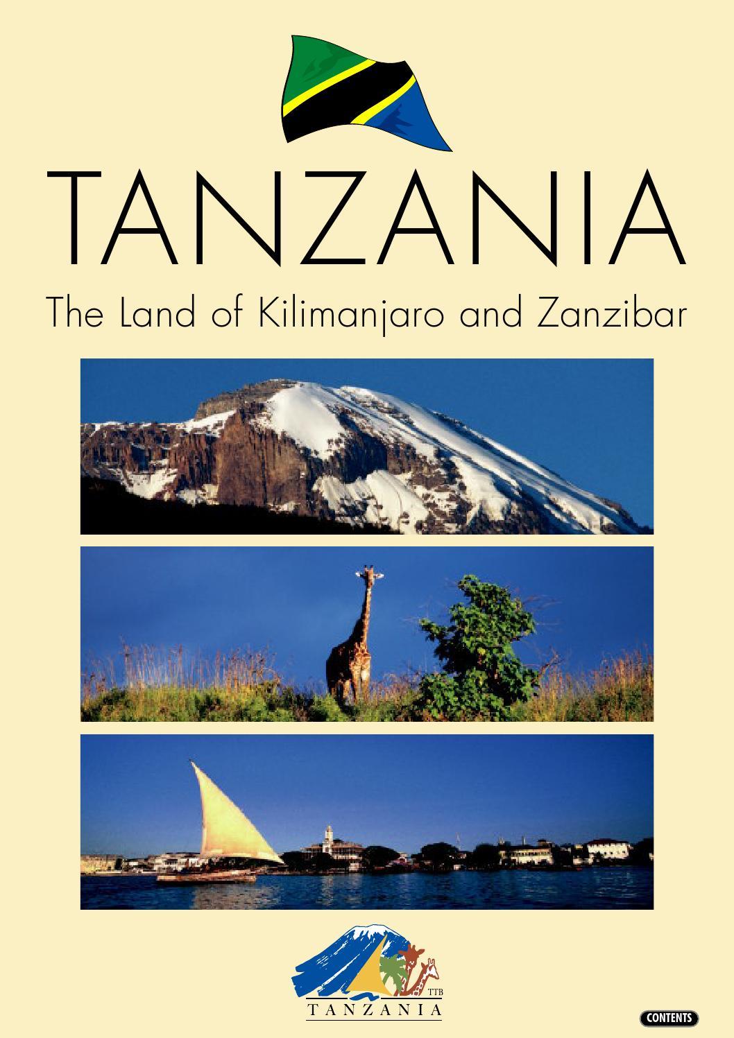 Selling Tanzania 2007 by Tanzania Tourism.