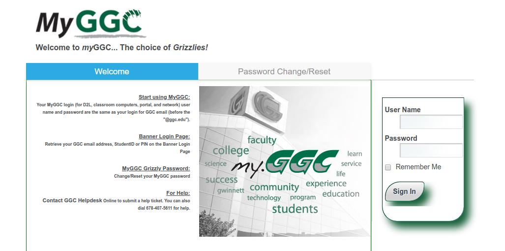 my.ggc.edu.