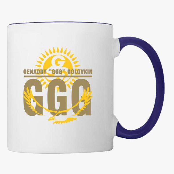 Genaddy GGG Golovkin and Logo Coffee Mug.