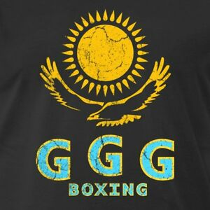 Details about GGG GENNADY GOLOVKIN EAGLE SUN OLDSKOOL FULL FRONT OF Shirt  *MANY OPTIONS*.