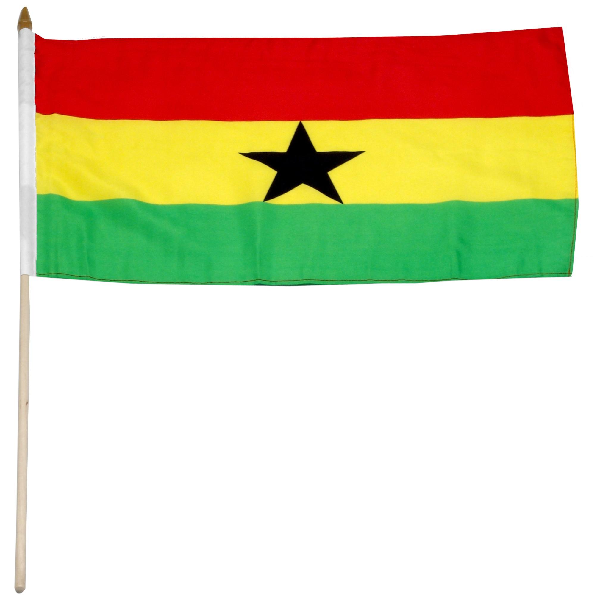 Ghana flag clipart.
