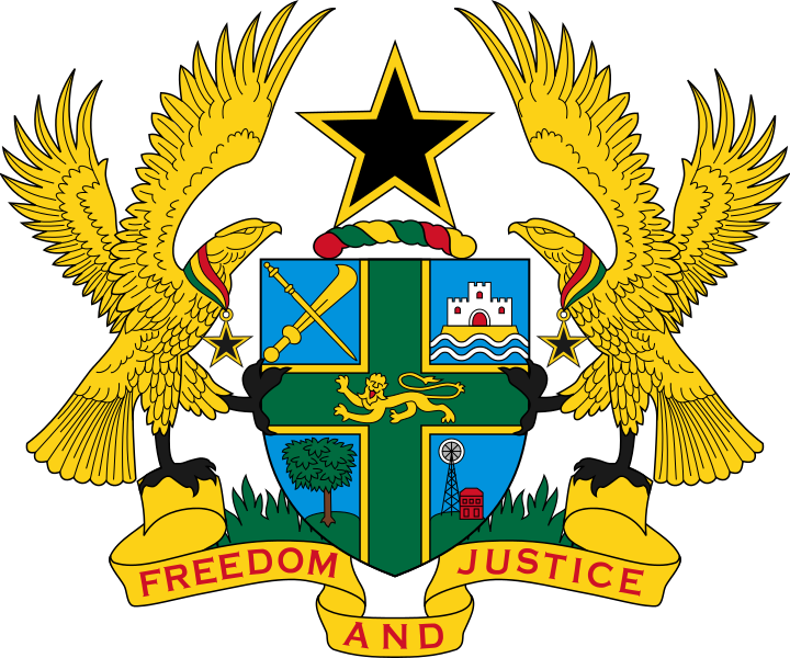 File:Coat of arms of Ghana.svg.