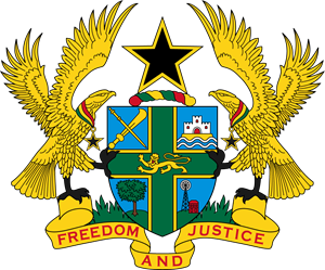Coat of arms of Ghana Logo Vector (.EPS) Free Download.