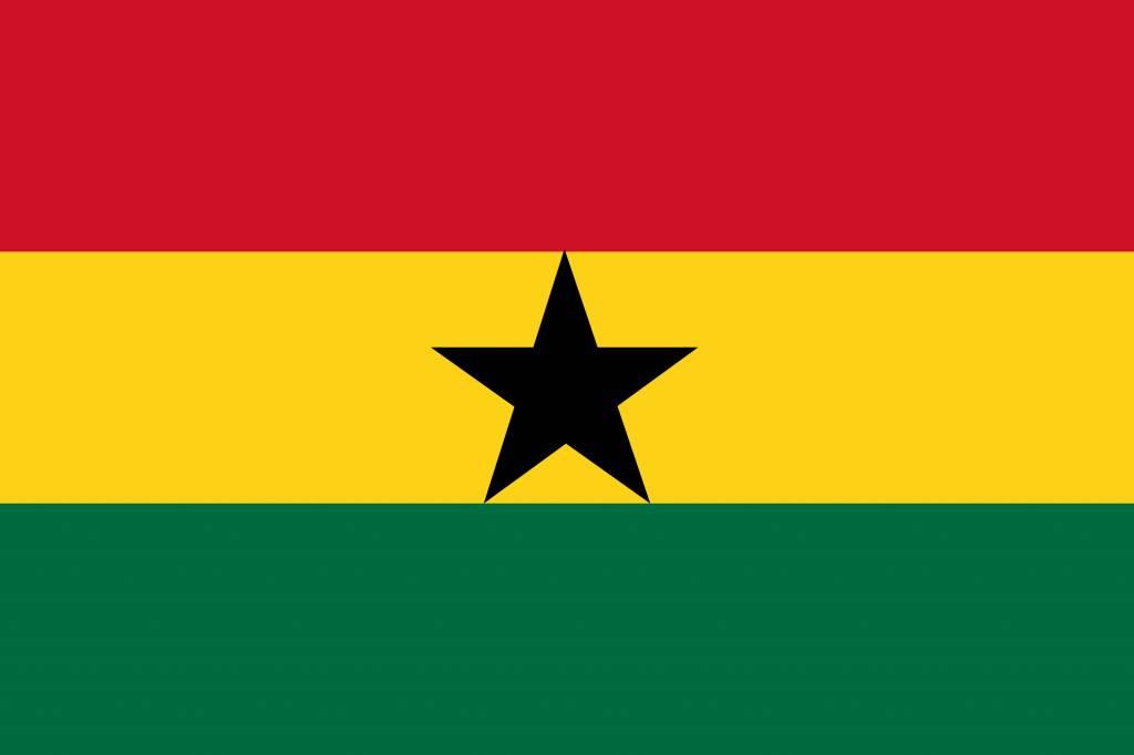 Ghana flag image.