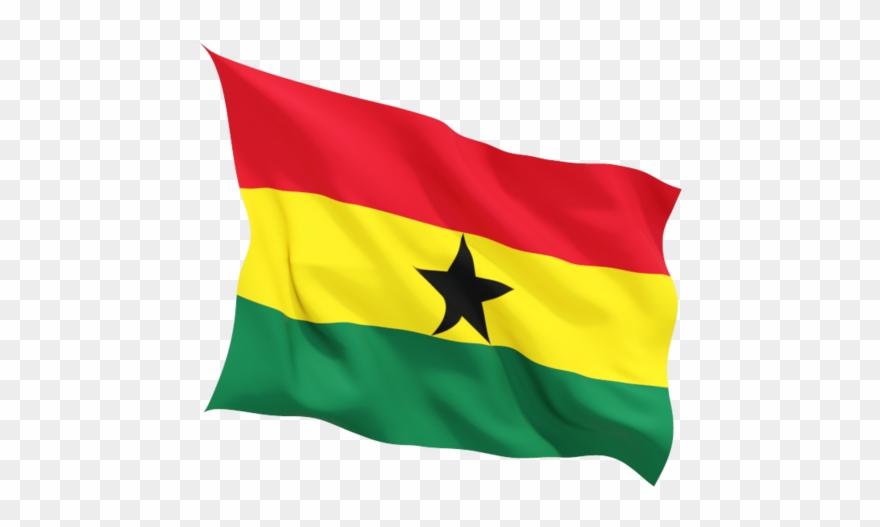 Ghana Flag Png.
