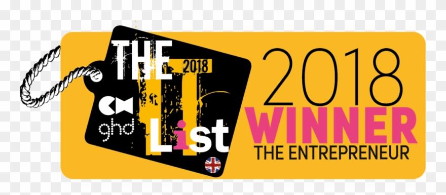The It List 2018 Winner Logo The Entrepreneur.