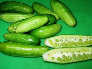 Food, In The Main: Kovakkai (ivy gourd) stir.