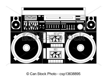 Boombox Vector Clipart EPS Images. 471 Boombox clip art vector.